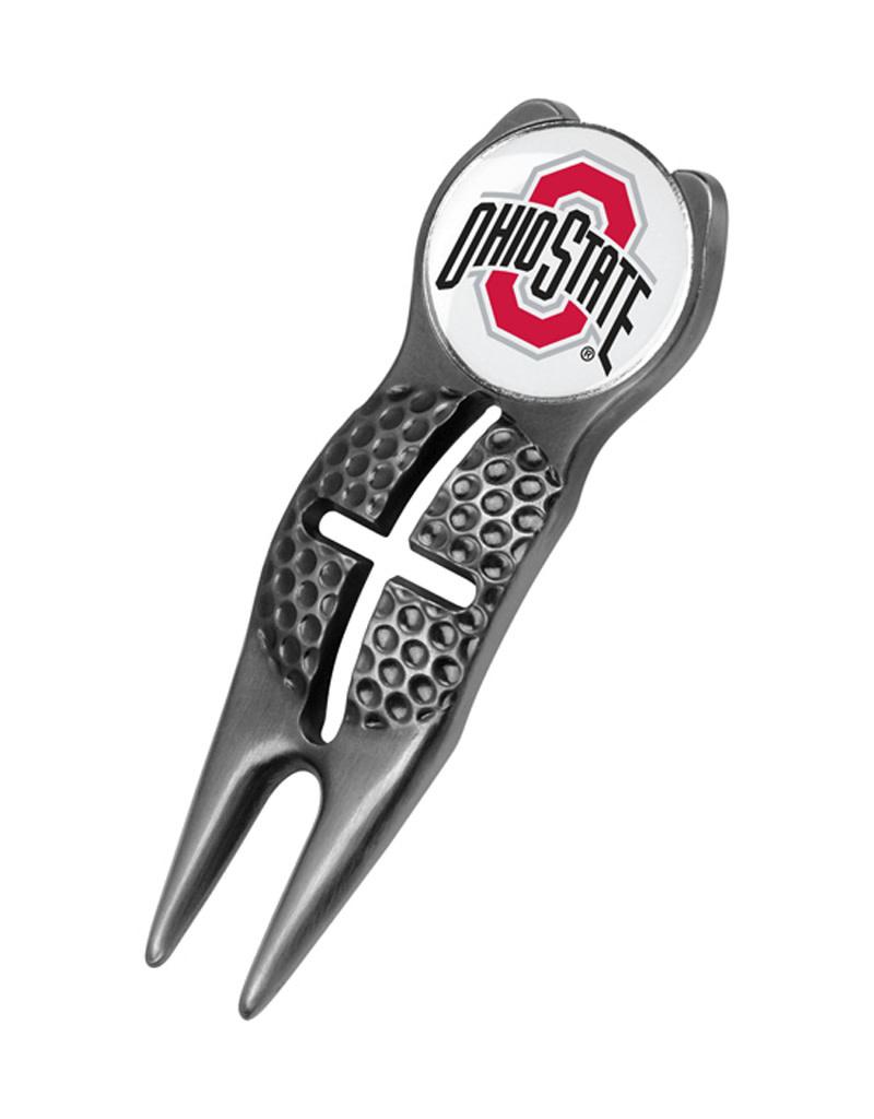Ohio State Buckeyes Crosshairs Divot Tool