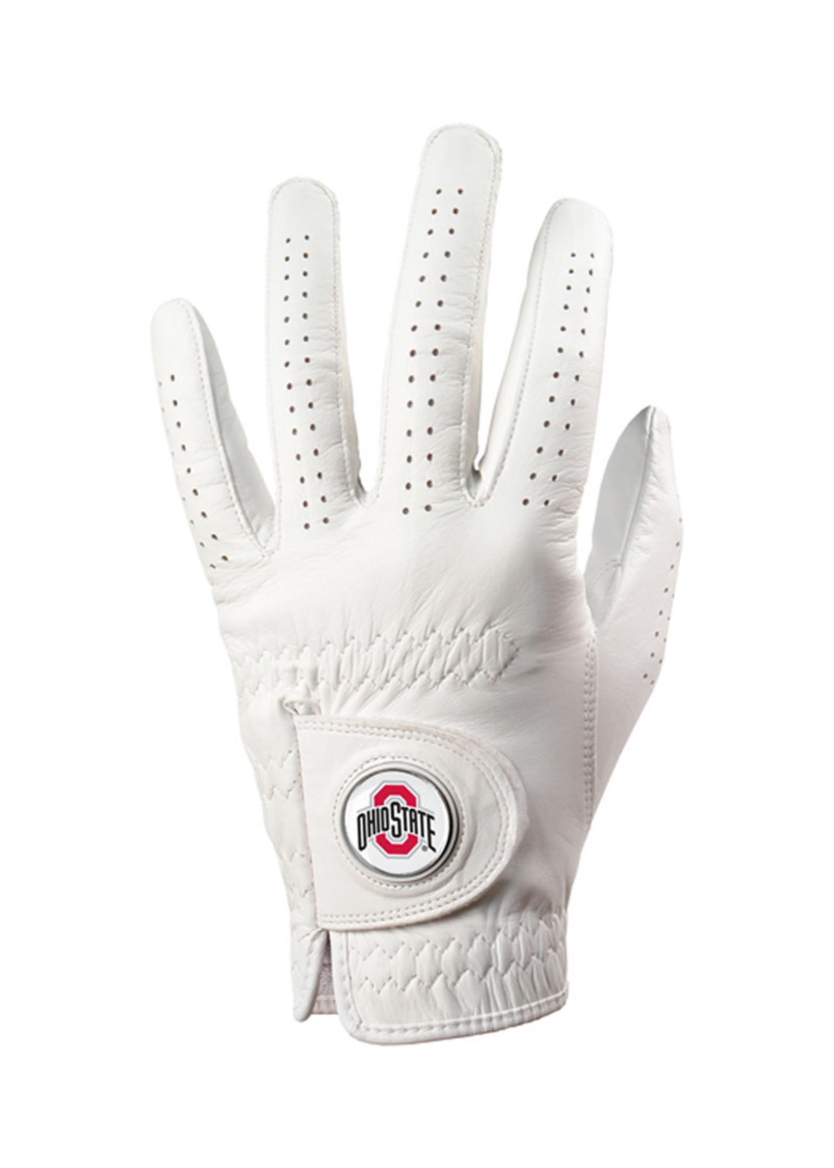 Ohio State Buckeyes Golf Glove with Ball Marker - Medium