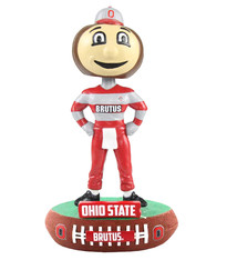 Forever Collectibles Ohio State Buckeyes - Brutus Bobblehead