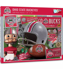Ohio State Buckeyes Retro Series 500-Piece Puzzle