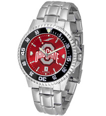 Ohio State Buckeyes Men's Competitor Steel AnoChrome Watch