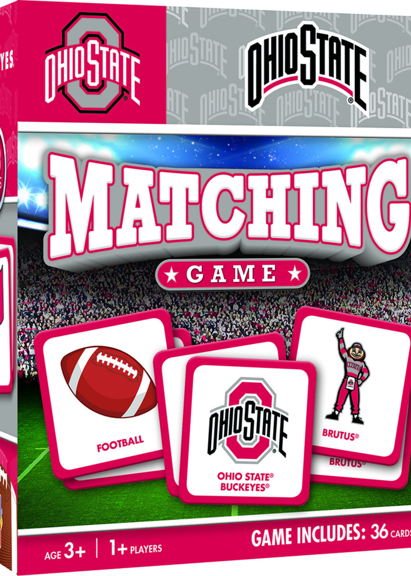 Ohio State Buckeyes Matching Game
