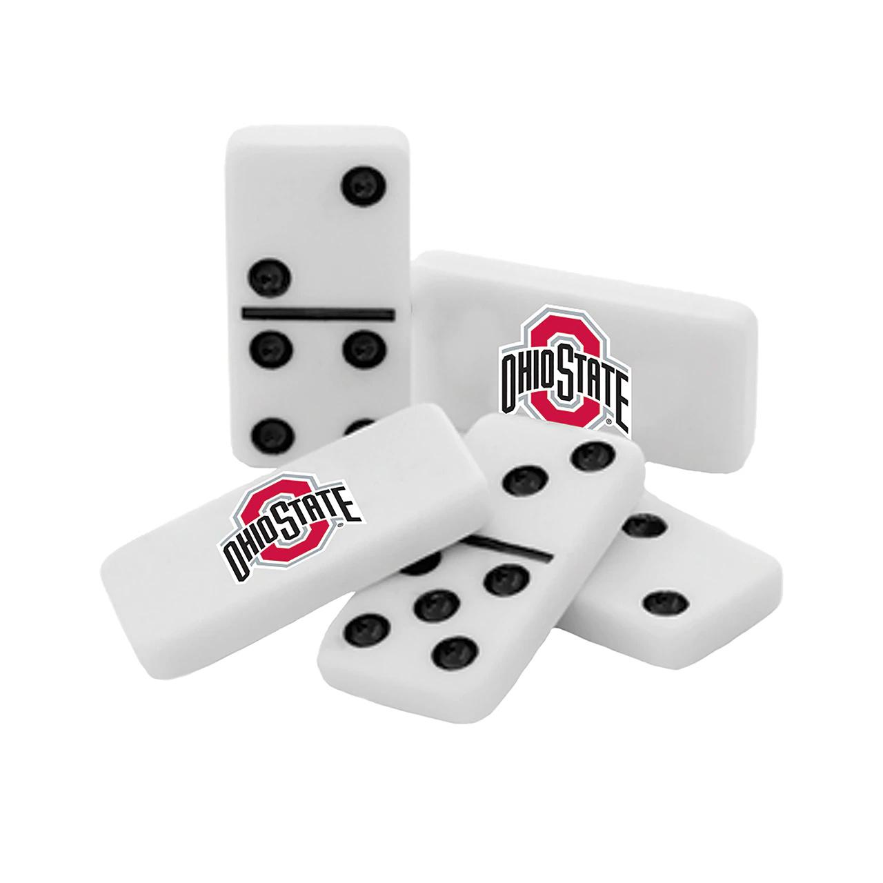 Ohio State Buckeyes Double-Six Dominoes