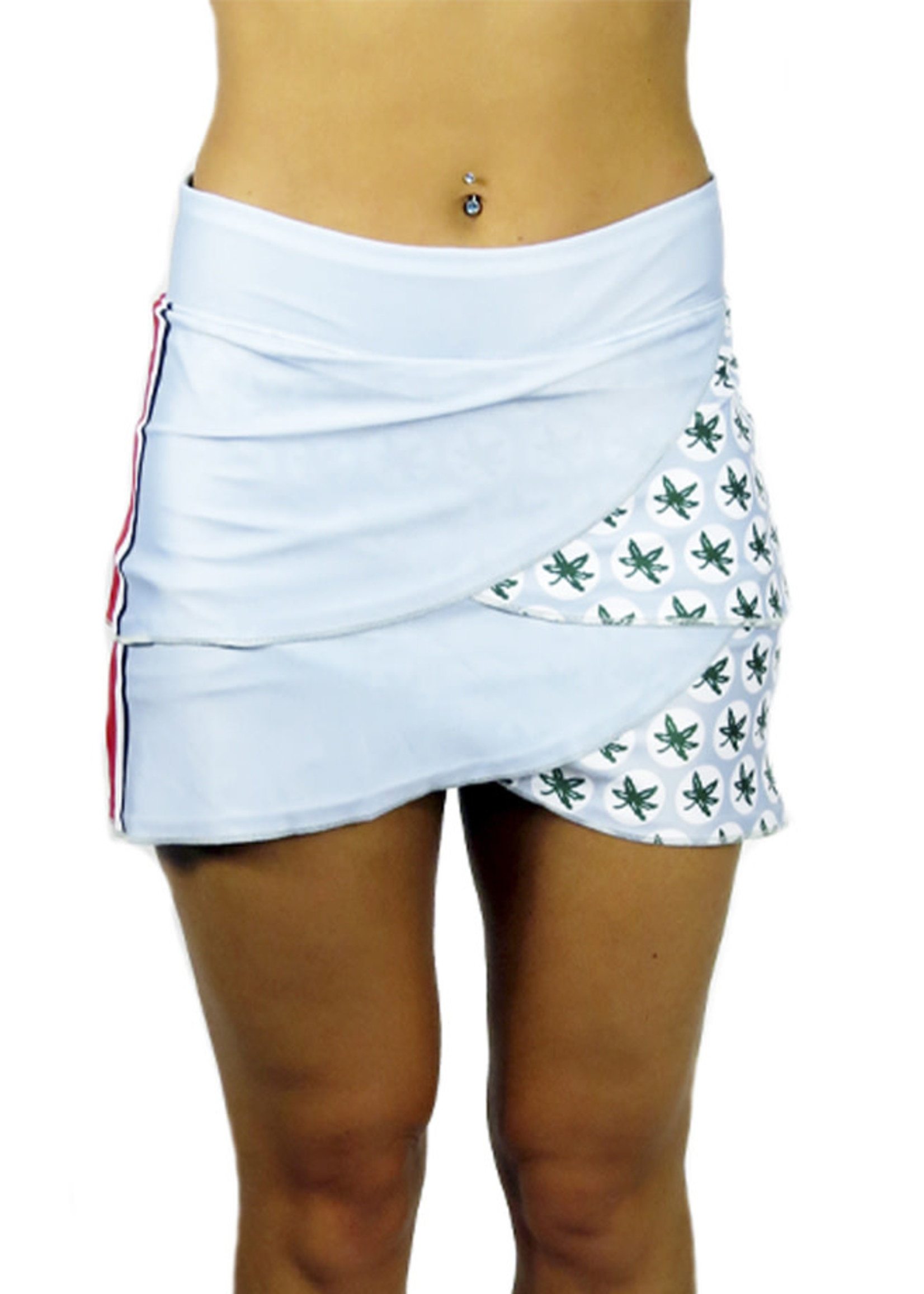 Bend Ohio State Buckeyes The Game Day Performance Skort