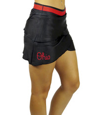 "Bend Ohio State Buckeyes The ""Script Ohio"" Performance Skort/Black"