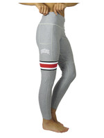Bend The Ohio State University Cell Phone Pocket Legging/Heather Grey