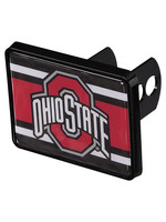 Wincraft Ohio State Buckeyes Super Stripe Universal Plastic Hitch Cover