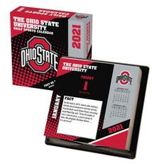 Ohio State Buckeyes 2021 Desk Calendar