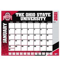 Ohio State Buckeyes 2021 Desk Pad Calendar