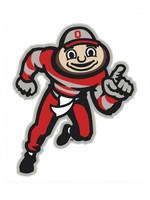 Ohio State Buckeyes Brutus Logo Decal