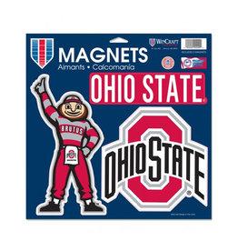 Wincraft Ohio State Buckeyes 3 Magnet Set