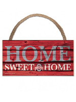Wincraft Ohio State Buckeyes Home Sweet Home 5x10 Wood Sign
