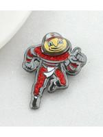 """Ohio State """"Brutus"""" Crystal Logo Pin"""