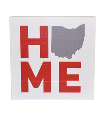 Ohio Home Wood Block