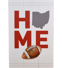 Ohio Football Home Pallet Decor