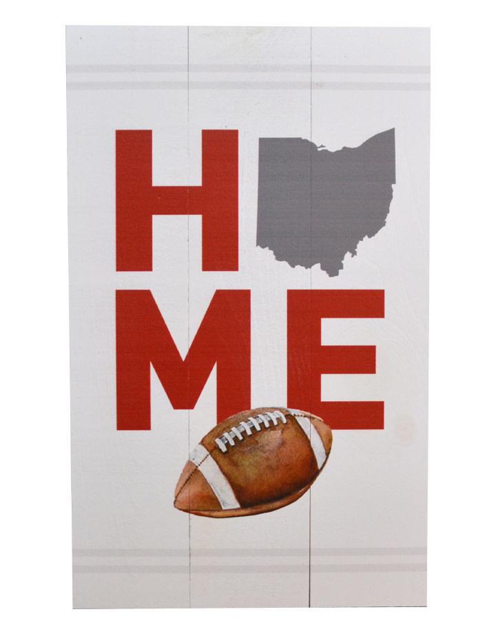 Ohio Football Home Pallet Decor