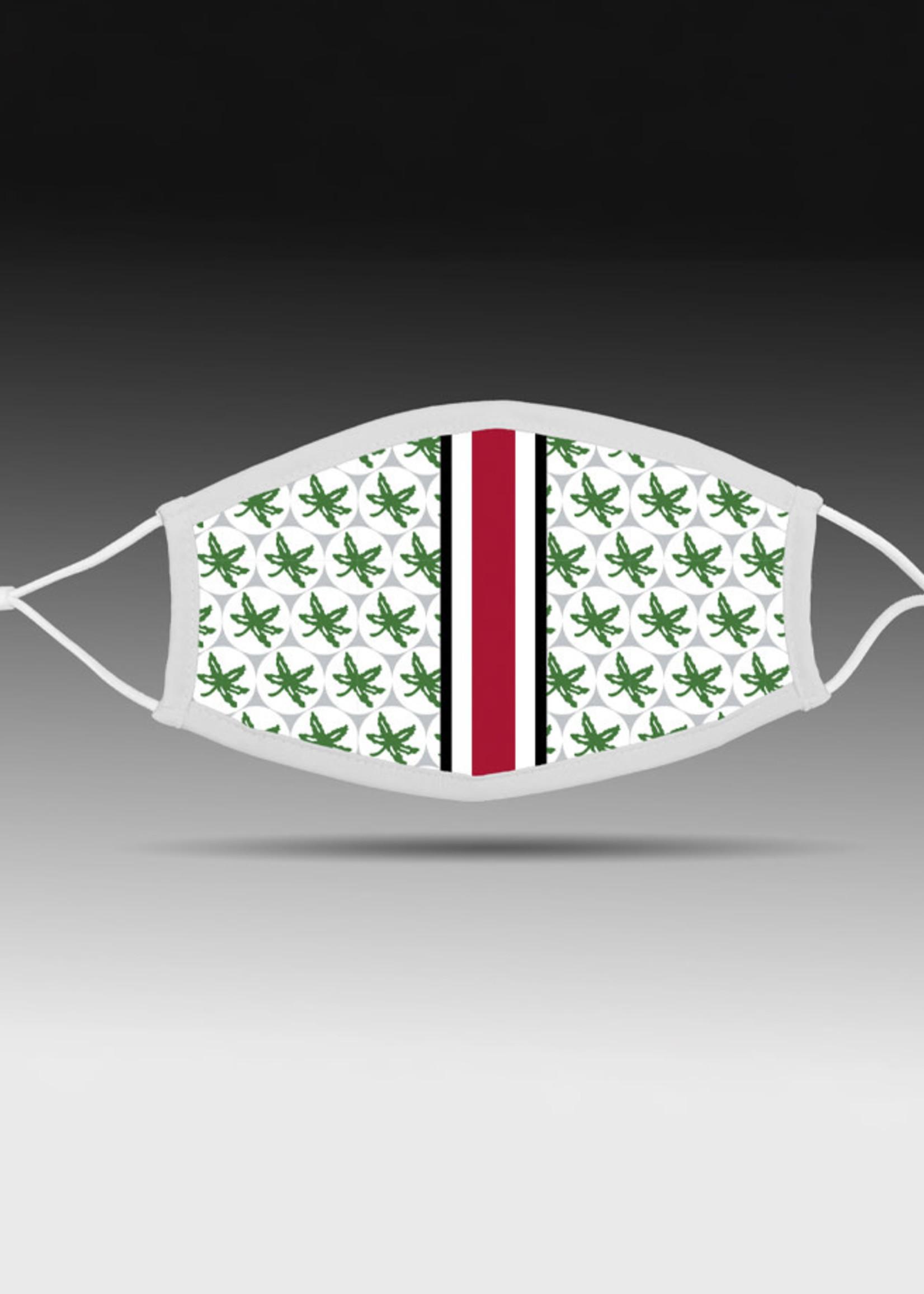 Bend Ohio State Buckeyes Helmet Adjustable Fit Face Covering