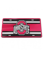 Wincraft Ohio State Buckeyes Acrylic Front License Plate