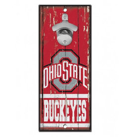 Wincraft Ohio State University Bottle Opener Sign 5x11