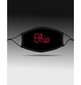 Bend Ohio State Buckeyes Script Ohio Adjustable Fit Face Covering