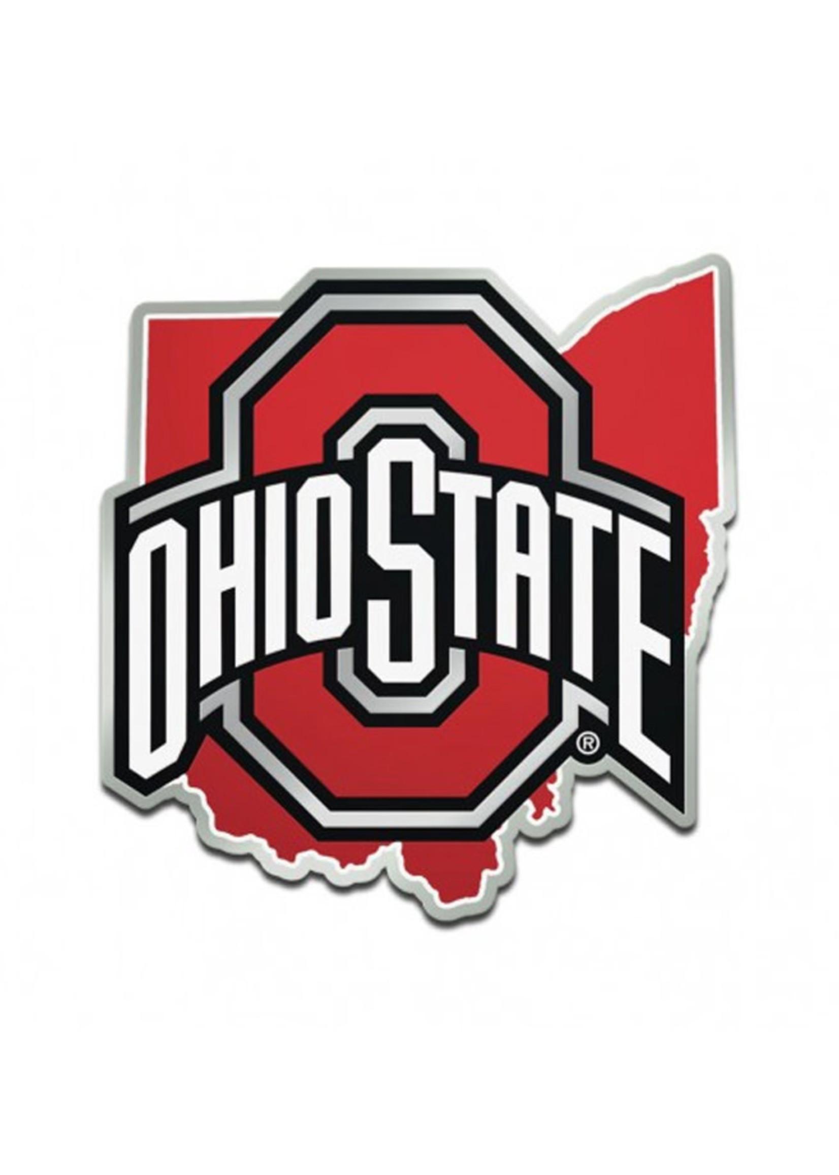Wincraft Ohio State Buckeyes In State Athletic O Car Emblem