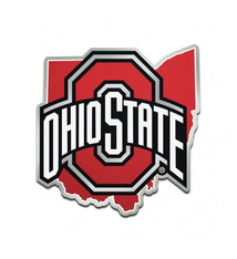 Wincraft Ohio State Buckeyes In State Athletic O Car Emblem