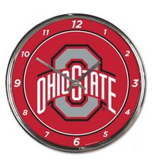 Wincraft Ohio State University Chrome Clock