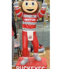 Ohio State Mascot Brutus Satue - 6 Foot Tall