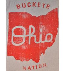 Ohio State Buckeye Nation Sweatshirt Blanket
