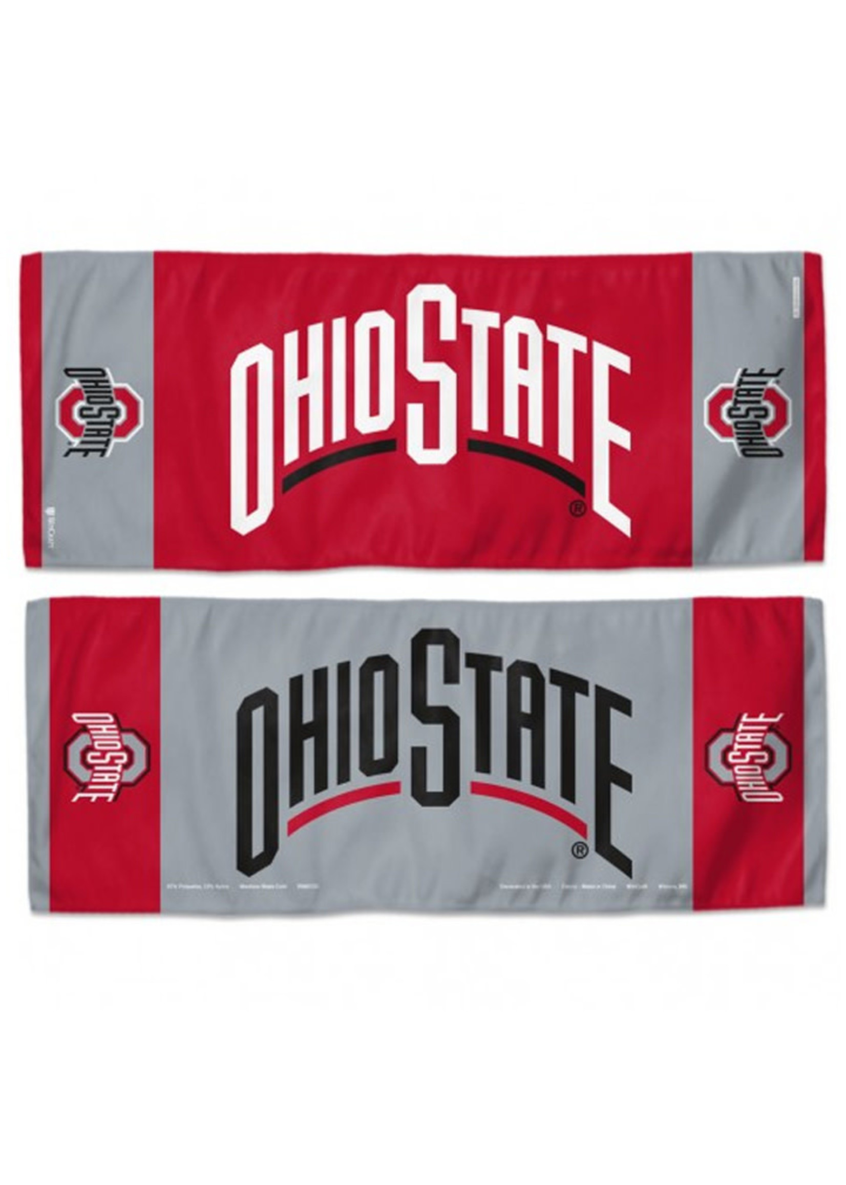 """Wincraft Ohio State University 12"""" x 30"""" Cooling Towel"""