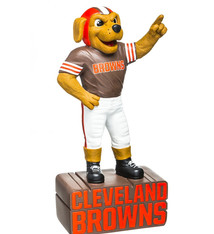 Cleveland Browns Mascot Statue