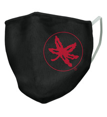 Ohio State Buckeyes Black Logo Face Covering - Adult