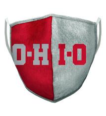 Ohio State Buckeyes O-H-I-O Face Covering - Adult