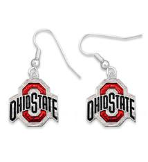 Ohio State Buckeyes Earrings- Game Day Glitter