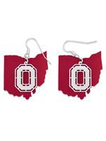 Ohio State Buckeyes Earrings- Home Team