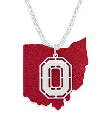 Ohio State Buckeyes Necklace- Home Team