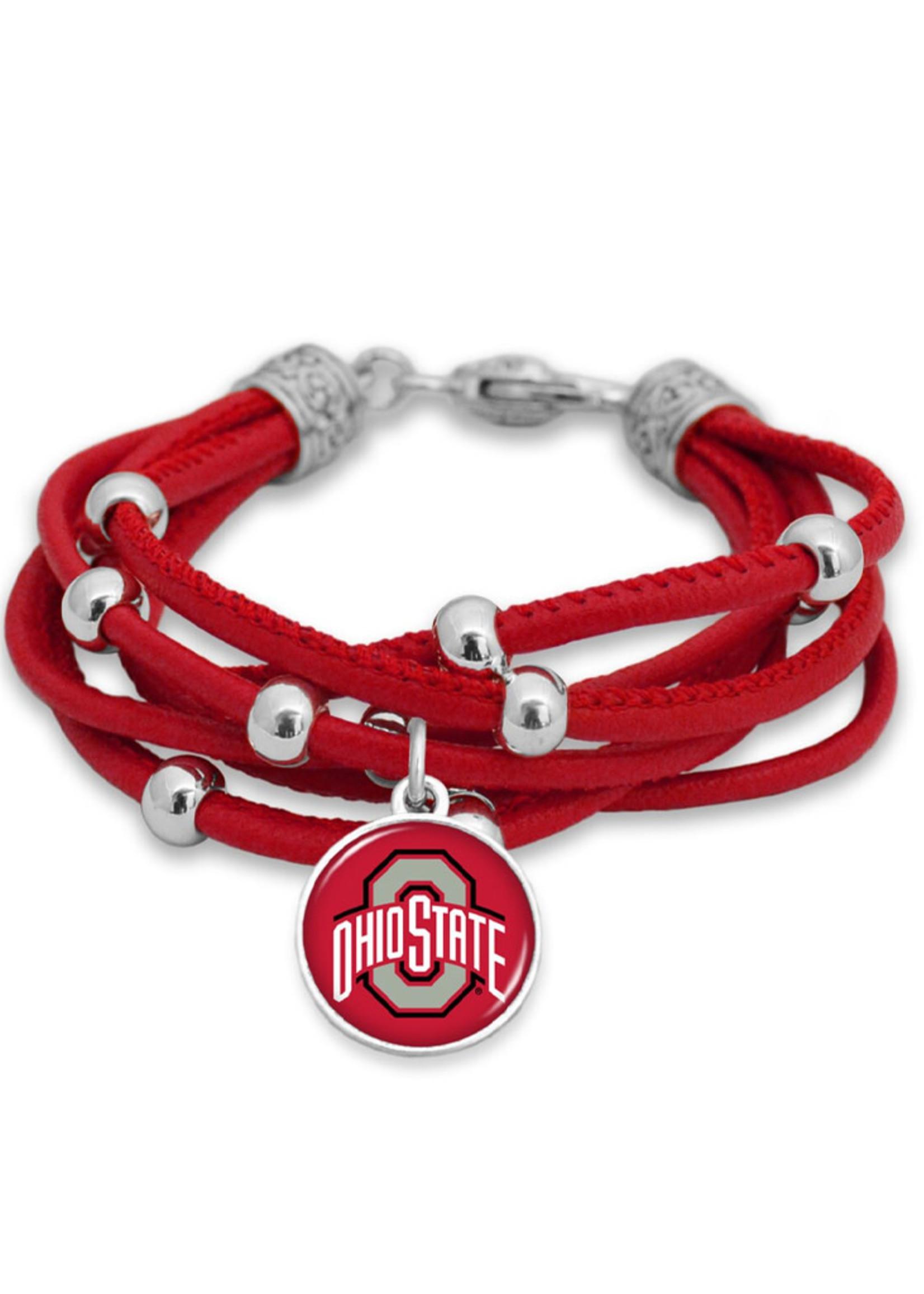 Ohio State Buckeyes Bracelet- Lindy