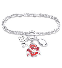 Ohio State Buckeyes Bracelet- Touchdown