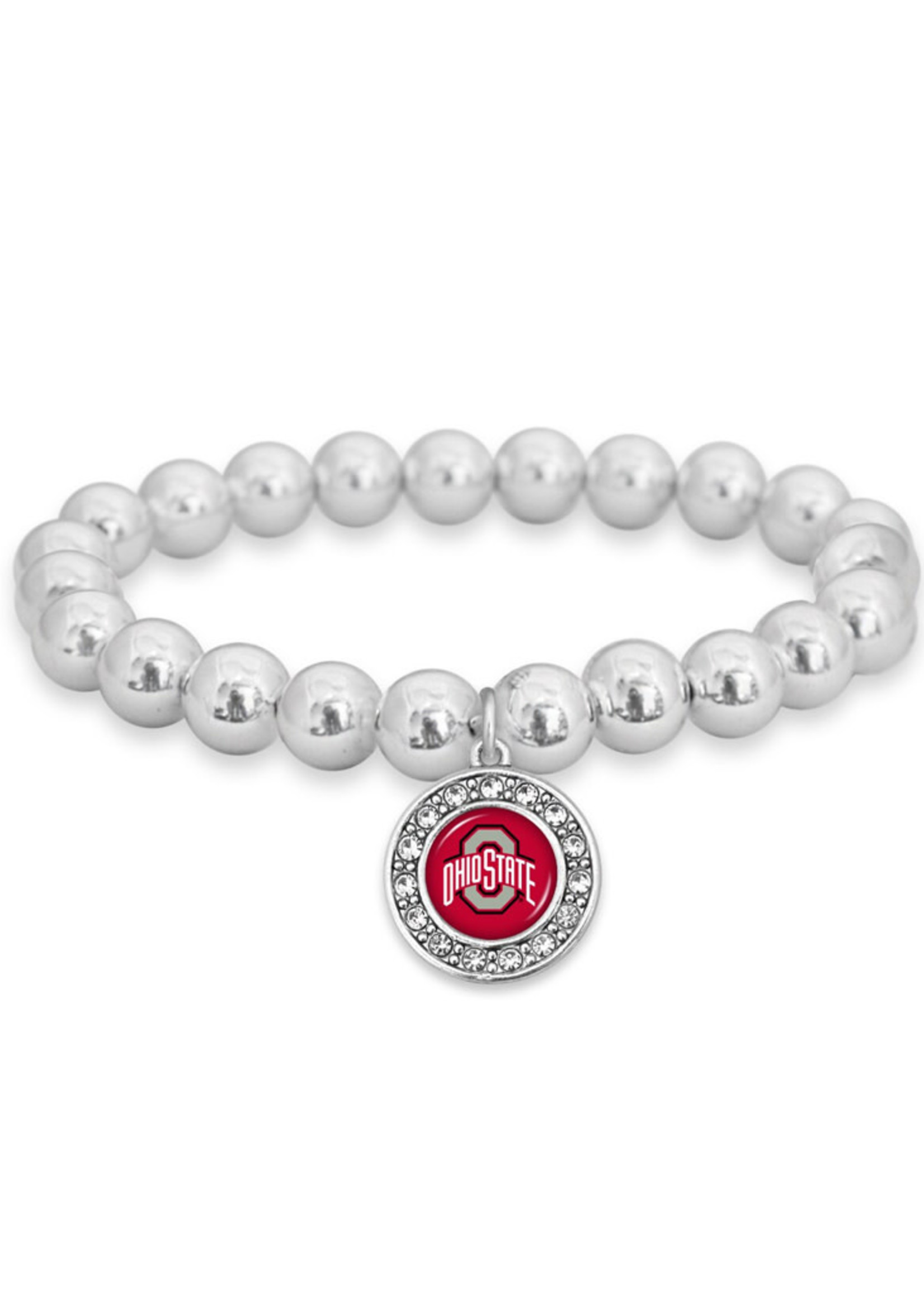 Ohio State Buckeyes Stretch Bracelet- Abby Girl