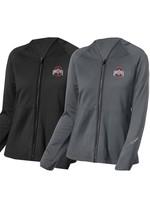 Wonder Wink Scrubs Ohio State Buckeyes Women's Fleece Full Zip Jacket