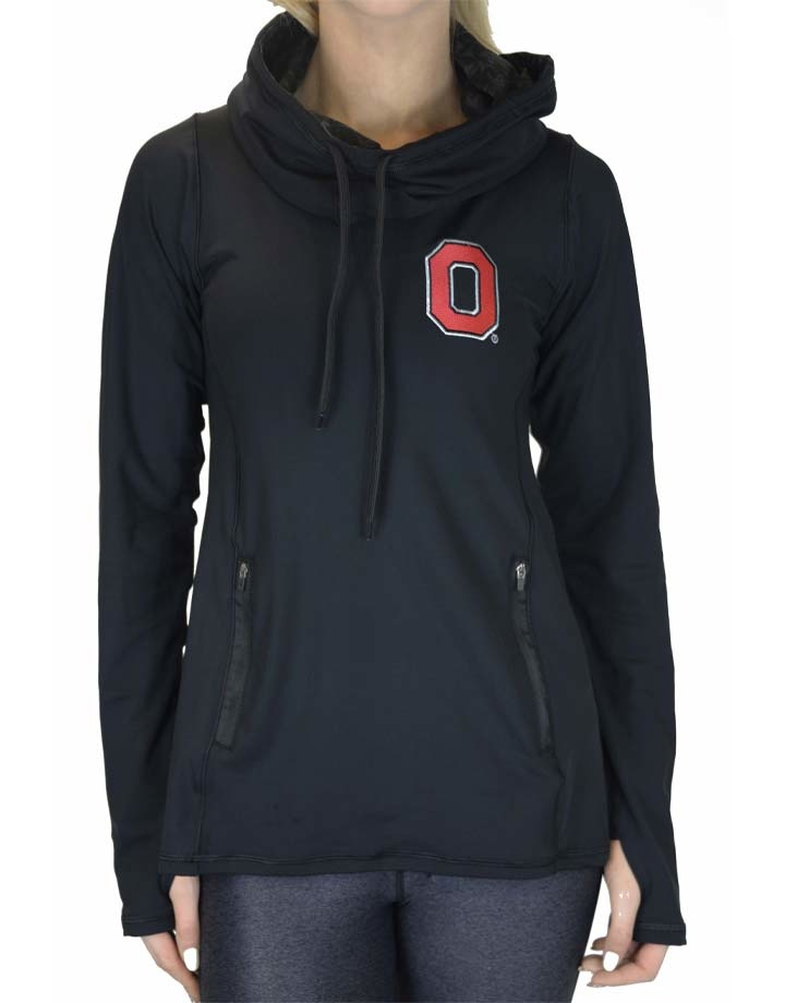 Bend Ohio State Buckeyes 2020 Vision Funnel Neck Pullover