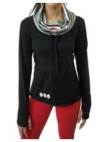 Bend Ohio State University Luxe Funnel Neck Long Sleeve