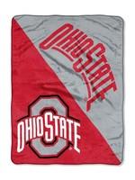 Ohio State Buckeyes Micro Fleece Throw Blanket