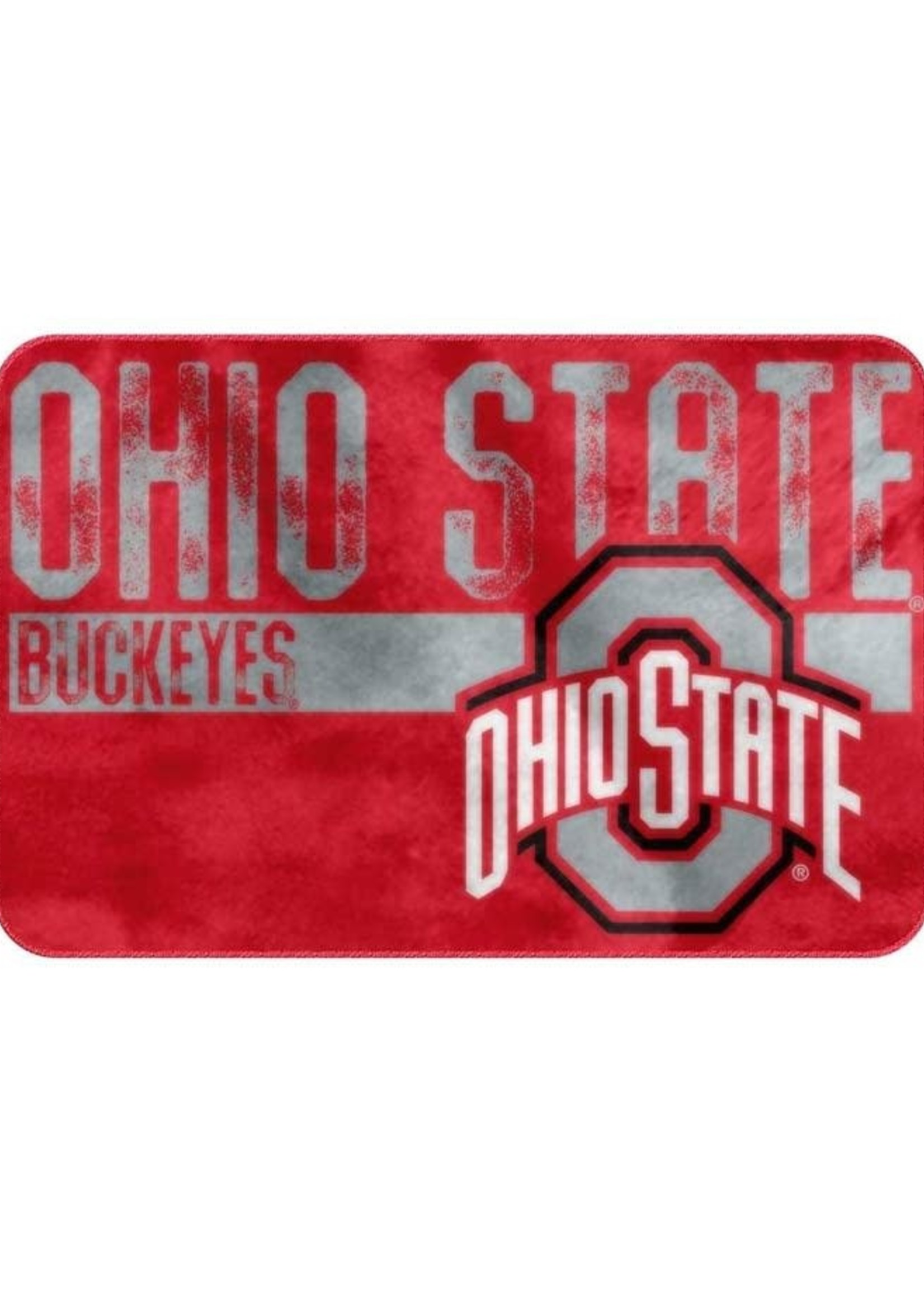 Ohio State Buckeyes Foam Bath Mat