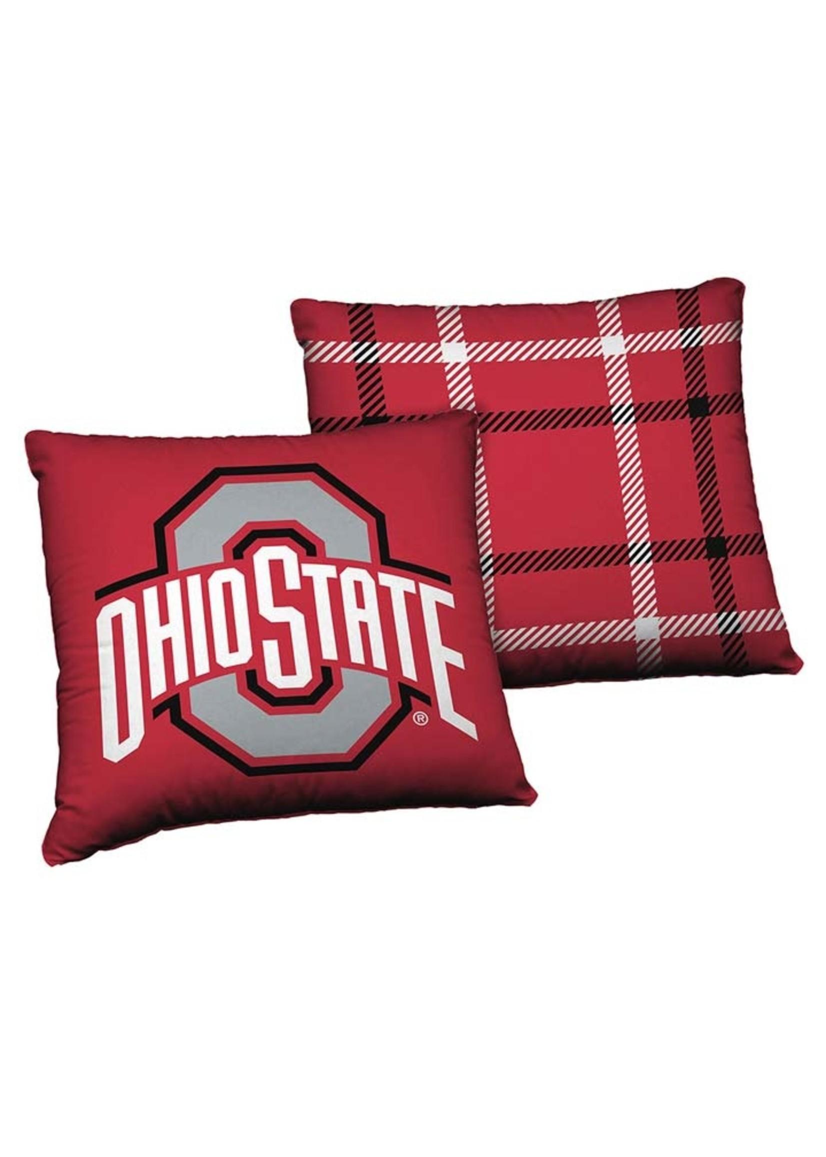 "Ohio State Buckeyes 24"" Cloud Pillow"