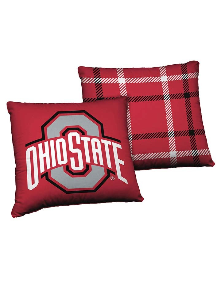 "Ohio State Buckeyes 24"" Cloud Pillow"