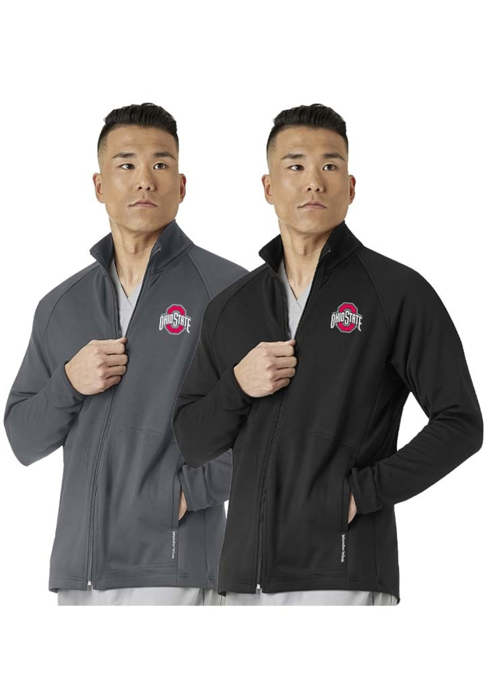 Ohio State Buckeyes Men's Fleece Full Zip Jacket