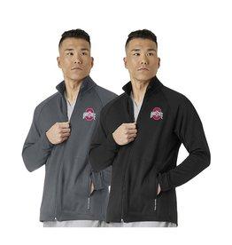 CID RESOURCES Ohio State Buckeyes Men's Fleece Full Zip Jacket