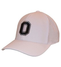 Top of the World Ohio State Buckeyes White One-Fit Flex Hat