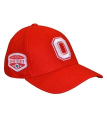 Top of the World OHIO STATE BUCKEYES BLOCK O ADJUSTABLE HAT